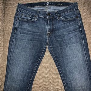 EUC 7 for all mankind Bootcut Jeans Size 28.